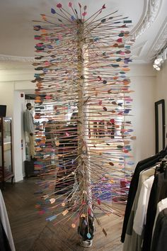 Interesting tree installation