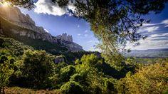 La muntanya de #montserrat vista des del #bages #catalunya #catalonia