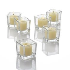 Set of 72 Eastland Square Votive Holders  72 Ivory Unscented Richland Votive Candles *** To view further for this item, visit the image link.Note:It is affiliate link to Amazon.