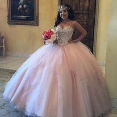 Plus Size Pink Girls Quinceanera Dresses Spaghetti Straps Corset Back Sparkly Sequins Crystals Tulle 2017 Sweet 16 Prom Birthday Party Gowns Xv Dresses, Quince Dresses, Ball Dresses, Prom Dresses, Dress Prom, 2015 Dresses, Evening Dresses, Short Dresses, Wedding Dress