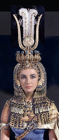 Oliver Messel costume from the abandoned Pinewood Cleopatra 1963
