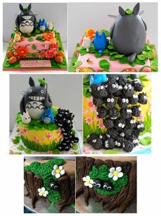 Part 2: Totoro cakes and features.