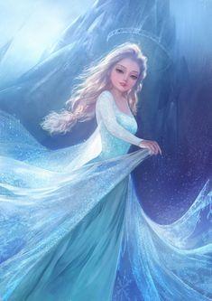 大葱君yo·J. One of my favorite Elsa pictures.