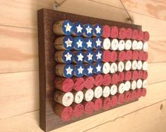 Wine Cork American Flag Painted cork screws - cork screws - Wine Cork Project 15 Genius Handmade Wine Cork Craft Ideas You Can DIY In No Just in Wine Craft, Wine Cork Crafts, Wine Bottle Crafts, Wine Bottles, Bottle Candles, Crafts With Corks, Wine Glass, Patriotic Crafts, July Crafts