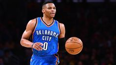 Oklahoma City: Reports say Oklahoma City Thunder and NBA All-Star point guardRussell Westbrook, 27, have agreed to a 3 year