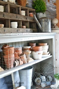~Puttering with Pots~