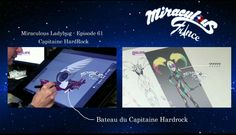 Episode 61 will have a villain called Captain Hardock with his ship (left) & check out this NEW villain! (right)