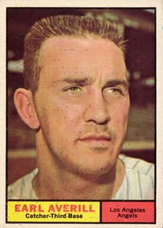 1961 Topps #358 Earl Averill Jr. Front