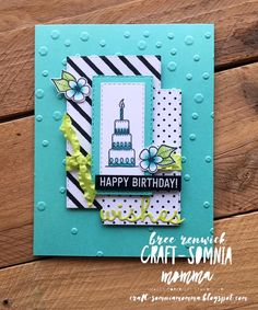 Stampin Up! piece of cake