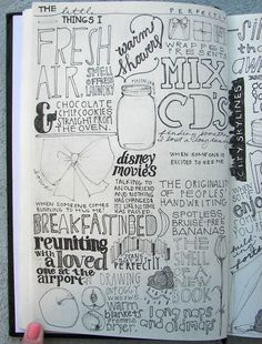 Can a sketchbook double as an art journal It seems to be a place where art and words can come together