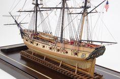 """Ship model of privateer """"Rattlesnake"""" 1779  From www.shipmodel.com"""
