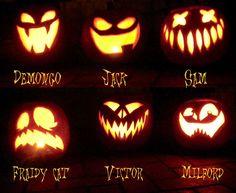 60+ Best Cool, Creative & Scary Halloween Pumpkin Carving Ideas 2014