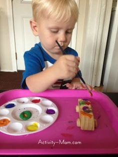The Activity Mom: Fun, Quick, and Easy Toddler Activities