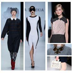 Ponte a tono con estas cuatro tendencias: 1. Cuadros ( Tartan ) 2. Blanco y Negro 3. Polka Dots 4. Accesorios geométricos #FashionTrends #Fashion