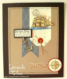 Another lovely nautical themed card