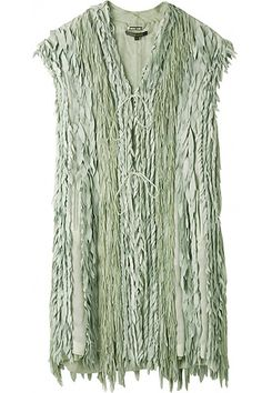 Green mint fringes