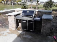 "Excellent ""built in grill diy"" information is offered on our internet site. Have… – backyard grill Outdoor Grill Area, Patio Grill, Diy Grill, Bbq Area, Barbecue Grill, Grilling, Outdoor Island, Backyard Kitchen, Outdoor Kitchen Design"