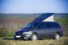 Chrysler voyager ¿De donde sale el techo elevable? Chrysler Voyager, Chrysler Van, Grand Voyager, Mobile Living, Van Life, Outdoor Activities, Camper, Have Fun, Places To Visit