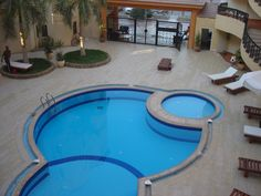 Self Catering in Hurghada. Large, 2nd floor, 2 bedroom apartment to rent. £150 to £175 week. Self Catering. See website www.hurghadaacorn.com for full details.