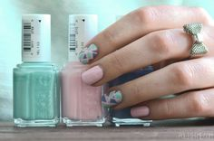 Tutoriel Nail Art – La mosaïque de printemps !