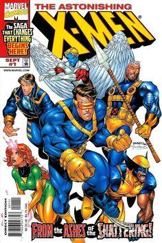Astonishing X-Men Volume 2 Issue 1