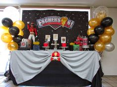 POWER RANGERS Birthday Party Ideas | Photo 1 of 21 | Catch My Party