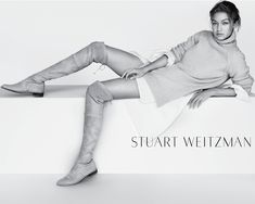 ☆ Gigi Hadid   Photography by Mario Testino   For Stuart Weitzman Campaign   Spring 2016 ☆