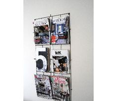 Porte revue mural 36euros wc pinterest - Porte revue mural inox ...