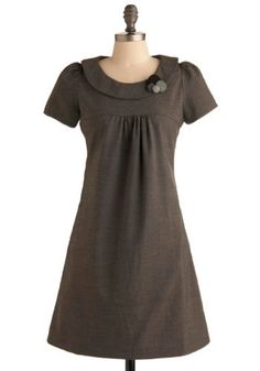 Art Instructor Dress. Today you're having your gifted art students draw circles for half an hour. #modcloth