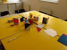"""""""Kreative Papierwerkstatt"""" - Eines unserer Workshopangebote /// Foto: Museum für Druckkunst Leipzig"""