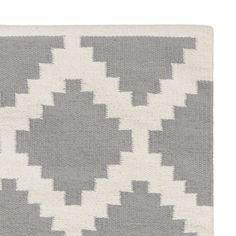 4ab94663efaa40 Satara runner: soft grey tones work well with many shades Teppich Grau Weiß,  Jute