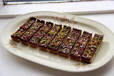 Sunde og Sprøde Havrebars med Chokoladetopping