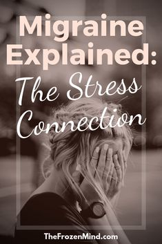 my brain overreacts to stress. This does NOT mean that my migraines are not real and it does NOT mean that they are not serious. - #Stress #Migraine