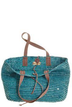 Ashville Crocheted Raffia Tote | Calypso St. Barth