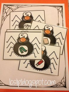 """/s/ is for Spider.      Could use this for any sound and use bugs.  Students take a plastic fly swatter and """"swat"""" the bugs on the wall.  Another one says the sound and the 3rd child gives an example of a word with that sound.  the 4th student then brings the bug to the teacher.    Great way to engage entire classrooms!"""