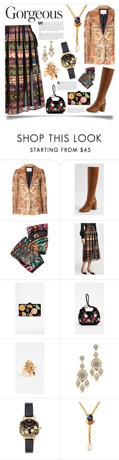 """""""Different is Style"""" by justinallison ❤ liked on Polyvore featuring Frame, G-Loves, Stella Jean, Edie Parker, Studio 33, Oscar de la Renta, Miguel Ases, Olivia Burton and Lizzie Fortunato"""
