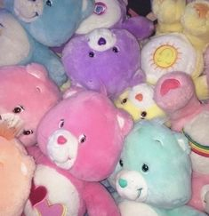 care bears are the shit 💞 Rainbow Aesthetic, Aesthetic Vintage, Care Bears, Photo Wall Collage, Picture Wall, Images Hello Kitty, Images Esthétiques, Got Anime, Indie Kids