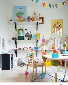 Kids Workspace Inspo and Image Regram thanks to Maria @mariadesignstudio based in Sweden.  Time to finish the weekend with this awesome kids  workspace created by Interior Architect/Decorator Maria @mariadesignstudio. Can you believe that very  kids table and chairs were designed by Maria...that's next level decorating right there! Thanks Maria for the inspiration...we love your workspace style!