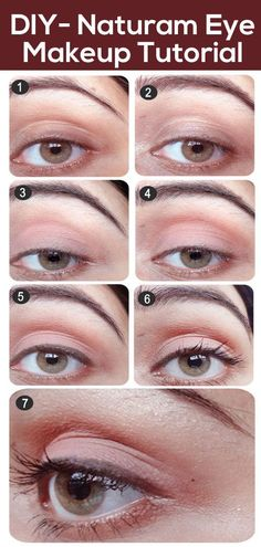 Everyday Eye Makeup Tutorial - With Detailed Steps & Pictures Simple Eye Makeup, Natural Makeup Looks, Blue Eye Makeup, Eye Makeup Tips, Beauty Makeup, Makeup Ideas, Makeup Tutorials, Eyeshadow Ideas, Makeup Stuff
