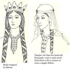 Period Head Coverings OR, alternately, What Hat Goes with My Outfit? Part I: Early Period to 12th Century