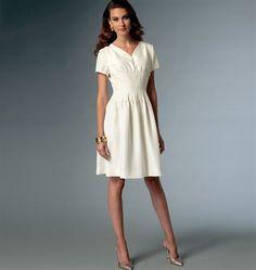 Patron de robe - Vogue 9046