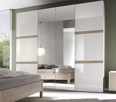 Modern #bedroom furniture #selene 4 door wardrobe #chest of drawers bedside, bed,  View more on the LINK: 	http://www.zeppy.io/product/gb/2/221797183743/