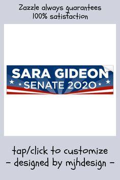 Amy McGrath US Senator Politician OFFICIAL CAMPAIGN BUMPER STICKER WINDOW DECAL