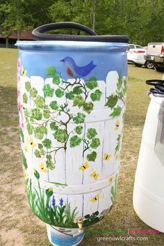 Alabama Rain Barrel Project Upper Tallapoosa Clean Water Partnership ~ Lake Wedowee Life Magazine