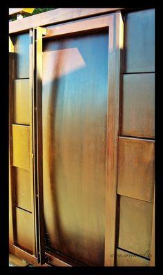 Corten steel entry door- puerta de entrada de acero cor-ten