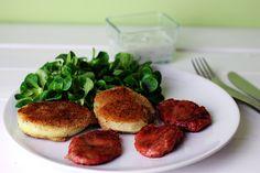 Rezept: Vegane Kohlrabischnitzel   Projekt: Gesund leben   Blog über Ernährung, Bewegung und Entspannung