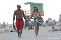 Pin for Later: Taraji P. Henson Hits the Beach in a Bikini, Holds Hands With a Shirtless Hottie