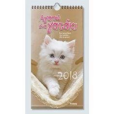 """Ημερολόγιο Τοίχου 2018 """"Αγαπώ ένα γατάκι'"""" 17x33 Cats, Animals, Gatos, Animales, Animaux, Animal, Cat, Animais, Kitty"""