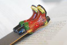 SALE Girly cowboy boots bookmark. Legs in the book. door MyBookmark