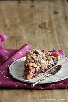 From: Uploaded by user, no url Plum Pie, Kinds Of Pie, Pie In The Sky, Stone Fruit, Sweet Tarts, Just Desserts, Yummy Food, Eat, Recipes